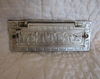 Vintage Letters Mail Slot Architectural Salvage