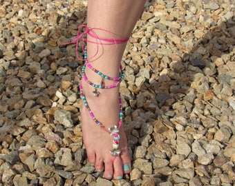 Mermaids Barefoot Sandal