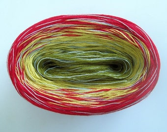 MARTINI MEDLEY II -- mega -- Sport Weight -- Color Changing Cotton yarn (180 gr/575 yards)