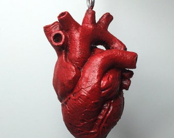 Anatomical Human Heart Ornament