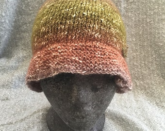 Cotton cloche hat