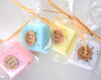 Party Favors: Soap Favors for Birthday Party, Baby Showers, Bridal Showers, Wedding Shower, Wedding Favors