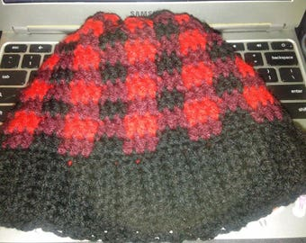 READY TO SHIP* Adult Sized Plaid Hat