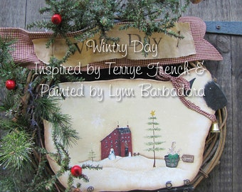 Wintry Day, by Lynn Barbadora, email pattern packet