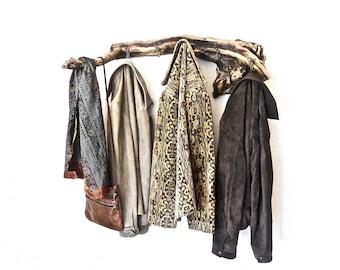 Rustic Coat Hanger, Driftwood Coat Rack, Driftwood Towel Rack, Cabin Coat Rack, Beach Rack, Driftwood Beach Decor, Driftwood Wall Decor