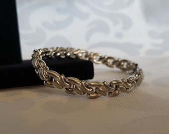 Sterling Silver Link Bracelet, Sterling Bracelet Made in Italy, Sterling Bracelet, Silver Bracelet, Bracelet