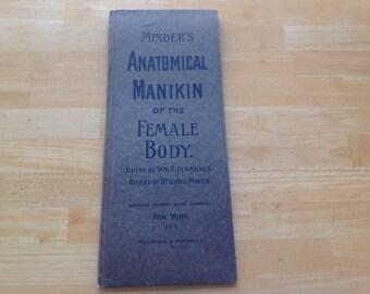 Minder's Anatomical Manikin of the Female Body  Copyright 1890's