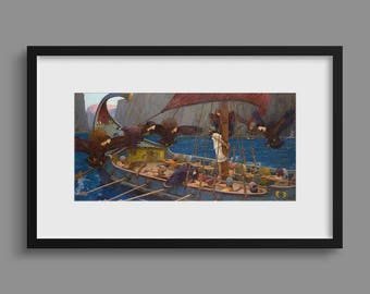 Ulysses and the Sirens - John William Waterhouse