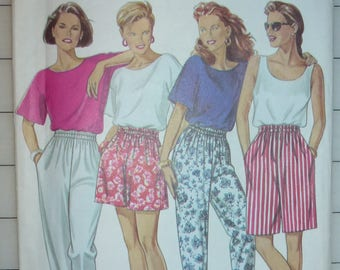 Simplicity NEW LOOK Pattern 6425 for Misses Pants and Shorts in Sizes 8-18