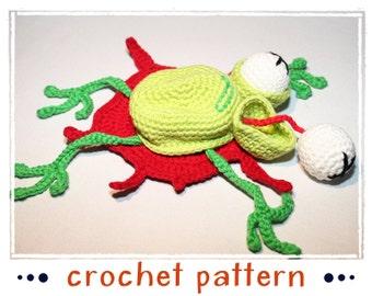 Dead Frog - Not for (little) Kids - Crochet Pattern - PDF file - Amigurumi