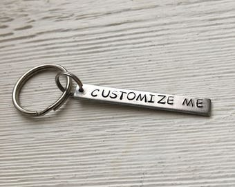 Customize Me keychain, personalize