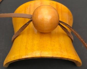 Wood Bamboo Hair Barrette Clip Hair Bun Tie Hair Jewelry Accessory