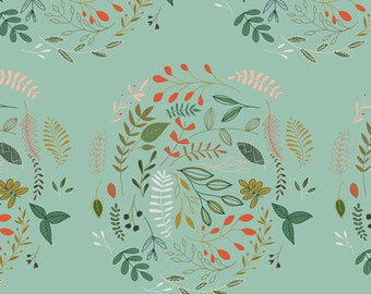 Woodland Bundle - Forest Fabric Bundle - Woodland Fabric - Fabric by the yard - Fat Quarter Bundle - Art Gallery Fabric - Wreathed