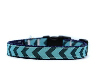 5/8 or 3/4 Inch Wide Dog Collar with Adjustable Buckle or Martingale in This Way