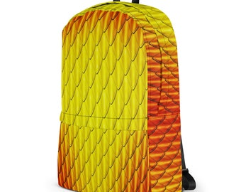 Red Dragon Scales Backpack