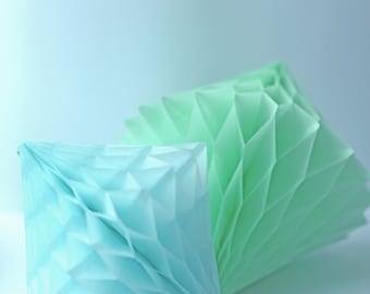Honeycomb Diamond Decoration |  Rhombus Honeycomb | Party Decoration | Nursery Decor | Wedding tissue paper decor| birthday party