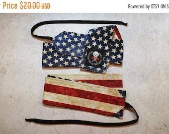 ON SALE American Flag, Wrist Wrap, WOD, Weightlifting, Athletic, Military, Patriotic