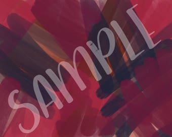 Purple, pink and navy brush strokes - Background 3