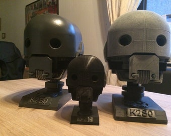 Star Wars Rogue One K2SO head as a lamp