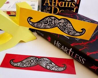 Bookmarks ~ Handlebar Moustache