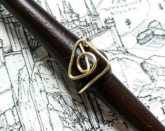 Harry Potter Inspired Celtic Design ring