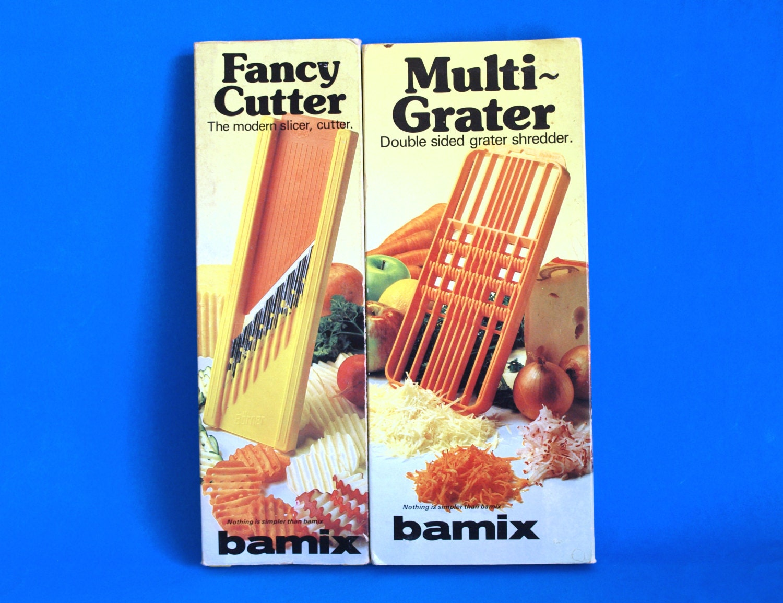 Bamix Fancy Cutter & Multi-Reibe Retro-Küche Geschirr Slicer
