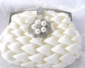 Wedding Clutches, Bridal Clutch, Bridesmaids Clutch, Prom Clutch, Evening Clutch, Formal Clutch, Party Clutches, Accessories, Satin Clutch,