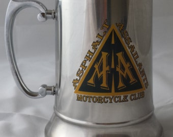 Personalized 20oz Stainless Steel Beer Mug Stein