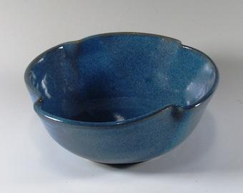 Ceramic Serving Bowl, Unique Serving Bowl, Soup Bowl, Ramen Bowl, Cereal Bowl, Ceramic Bowl, Blue Bowl, Noodle Bowl, Snack Bowl, Salad Bowl