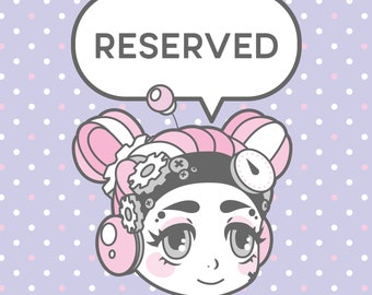 Reserved Listing for Clara Cortez