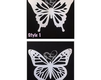 Large butterfly cut outs / paper butterflies