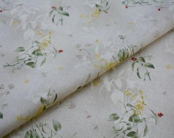Japanese cotton, Taupe Fabric, DAIWABO TS23031S-B