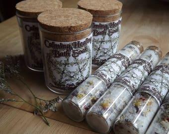 Calming Healing Bath Soak- Infused with healing and calming herbs