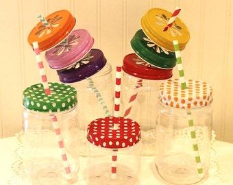 Plastic Mason Jars, 100 Mason Jars with lids, Plastic Mason Cups, Wedding Favors, Mason Jar Favors, Rustic Weddings, Bulk Plastic Mason Jars