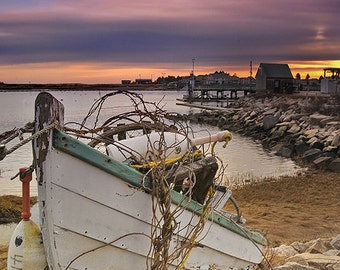 Fishing Boat on Shore (Art Prints available in multiple sizes)