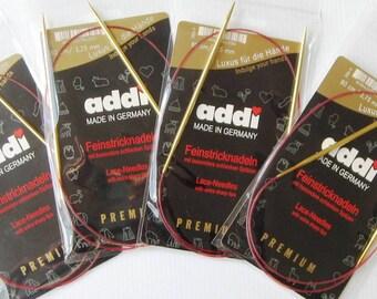 Addi Lace Circular Knitting Needles, 24- and 32-inch