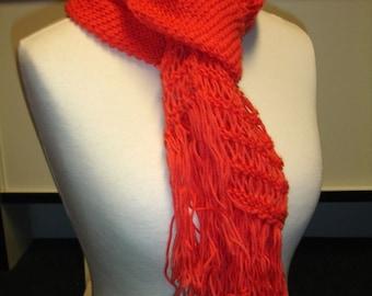 Orange scarf - ready to ship