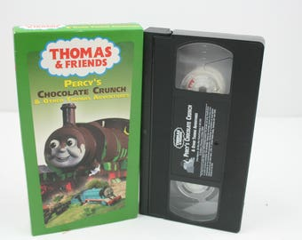 Thomas the Tank Engine and Friends - Percy's Chocolate crunch VHS amazon