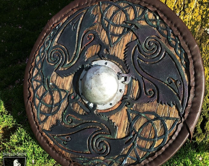 Celtic Shield for Medieval Combat // DOWN PAYMENT on Custom Woven Celtic Knots // Belegarth, Dagorhir, Amtgard