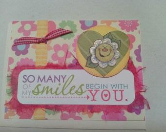 Smile Encouragement Card