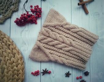 women's knitted winter hat