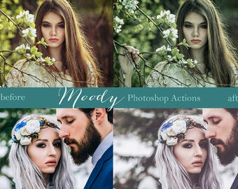 Deeply Moody Set 1 Photoshop Actions for your Photography 10 #2352017