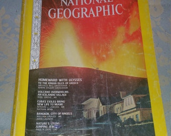 National Geographic Magazine July 1973  near mint condition