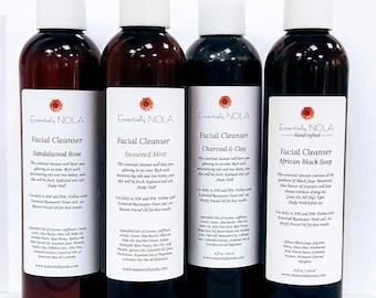 Rare Earth Deep Pore Facial Cleanser / Natural Cleanser - 8oz