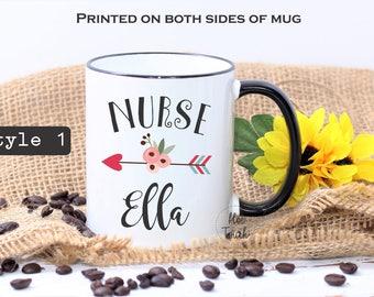 Nurse mug,Nurse gift,Personalized mug,mug for Nurse,Gift for Nurse,Registered Nurse,Grad mug,Nurse Coffee mug,Nurse Appreciation OC-NR-001