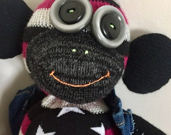 Rock Sock Monkey