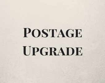 Postage Upgrade for Courier Use