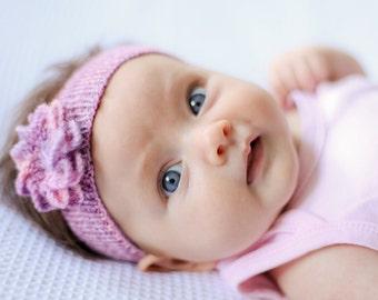 Babies First Headband PDF Knitting Pattern