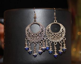 Chandelier Earrings - Bohemian Earrings - Boho Earrings - Boho Chic - Gypsy Jewelry - Dangle Earrings - Boho Jewelry