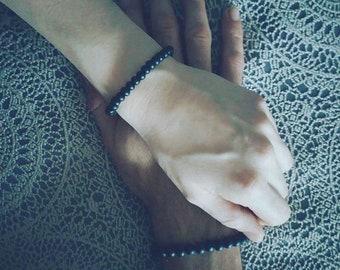Couple bracelets beads